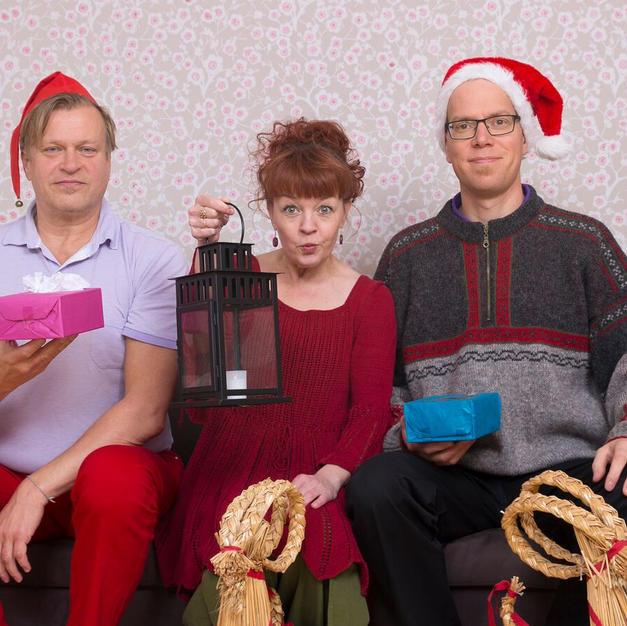 Loiskis Trio Joulukonsertti. Kuva Tanja K.