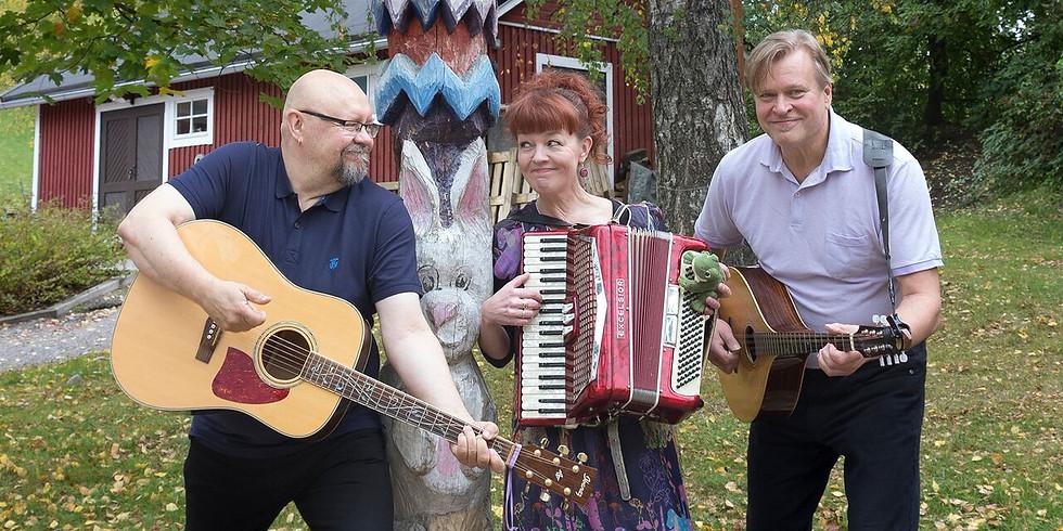 Loiskis Trion kyläkonsertit Rovaniemellä 25.-27.10.