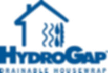 This is a picture of the hydro gap logo for siding