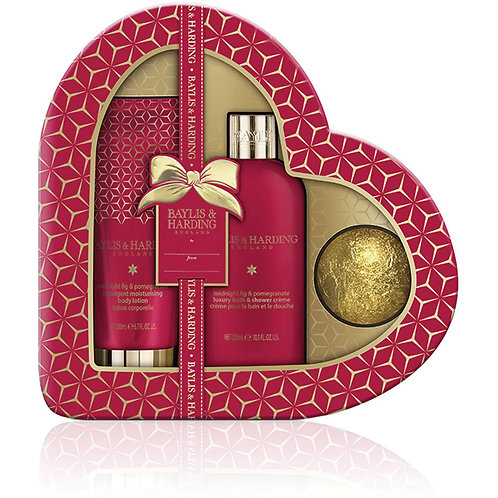 Baylis Pomegranate Heart Gift Set