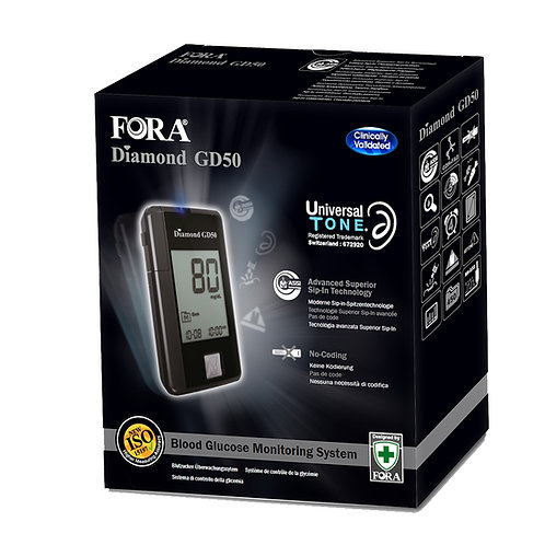 Fora Diamond GD50 Blood Glucose Monitor