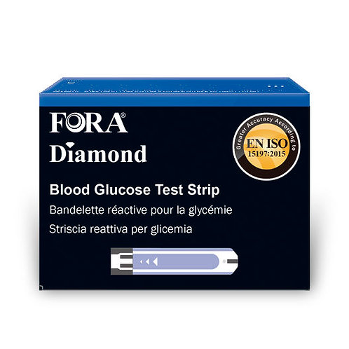 Fora Diamond Glucose Test Strip