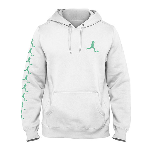 "Kids Fashion Hoodie ""Player"", white"