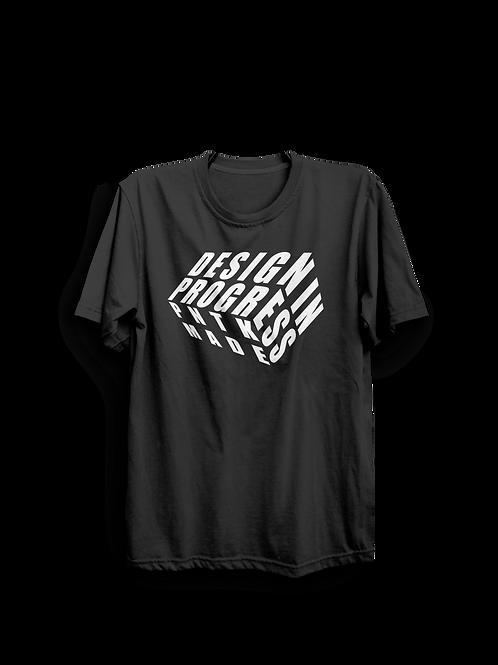 "T-Shirt ""Design in Progress"""