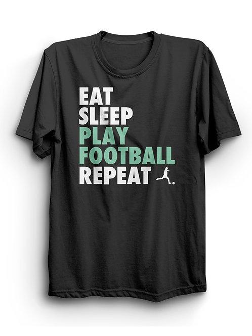 "Kids Fashion Shirt ""Eat Sleep"", black"