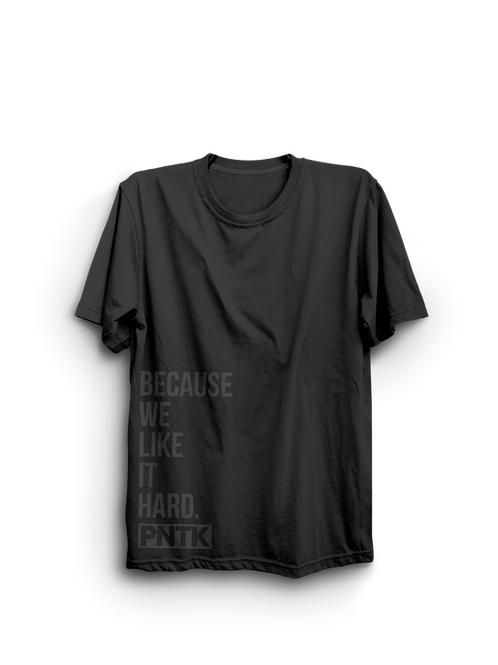 "T-Shirt ""We like it hard"""