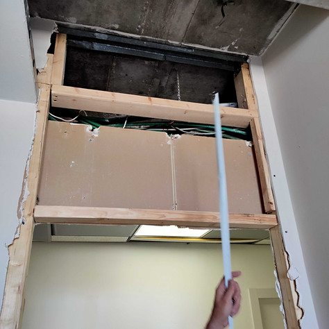 ייצרנו חייץ שני במטרה לחזק את החלק העליון