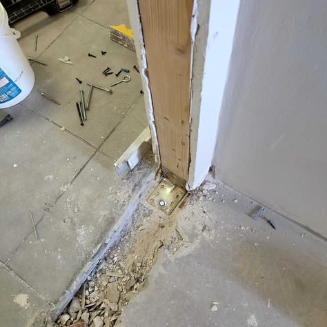 חיזוק הקורות לרצפת הבטון
