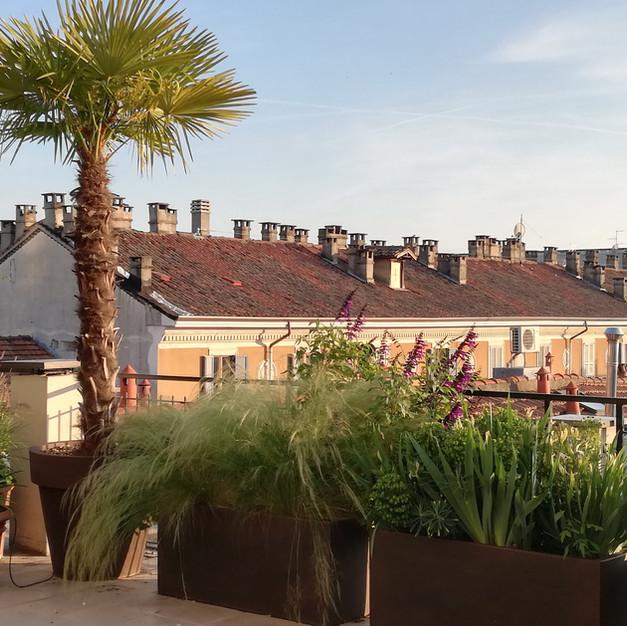 Rooftop Terrace, Milano, 2019