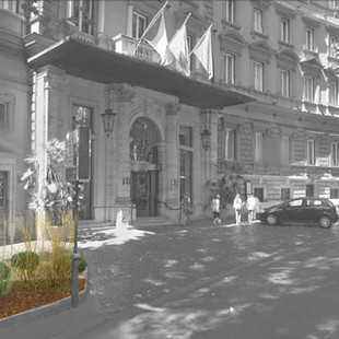 Hotel Majestic, Roma, 2015