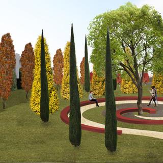 Ampliamento cimiteriale Casapulla, Caserta
