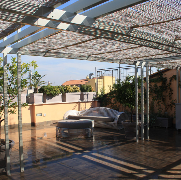 Outdoor Living Penthouse, Roma, 2016