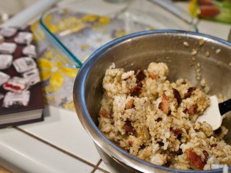 Recipe: Bacon and Date Rice Balls