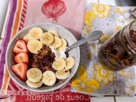 Recipe: Honey Sea Salt Granola