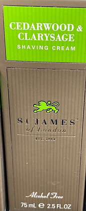 St. James Shaving Creme - Cedarwood