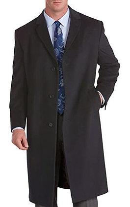 Jean-Paul Germain Classic-Fit 45-in. Wool-Blend Top Coat