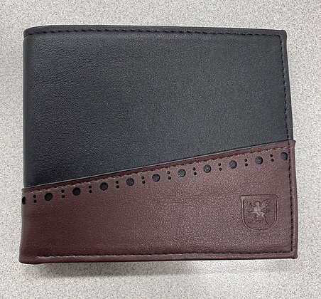 Stacy Adams - bifold wallet charcoal