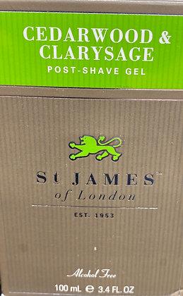 St. James - Post Shave Gel - Cedarwood
