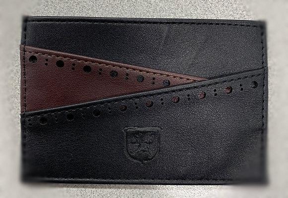 Stacy Adams - front pocket wallet black