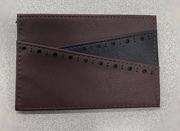 Stacy Adams - front pocket wallet chocolate