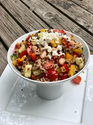Very Vegetable Quinoa Salad