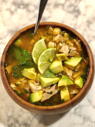 Yucatan Chicken and Lime Soup