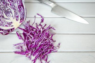 Cilantro Lime, Red Cabbage Slaw