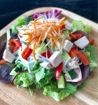 Vietnamese Salad (bún gà nướng)