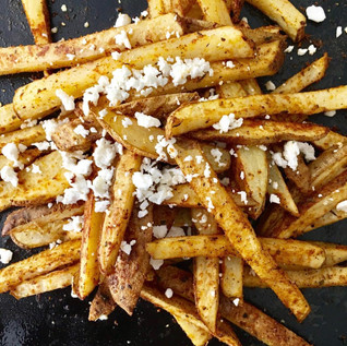 Quick Oven Fries