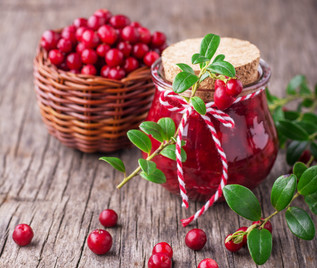 10 minute Cranberry Sauce