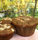 Einkorn Sourdough Banana Muffins