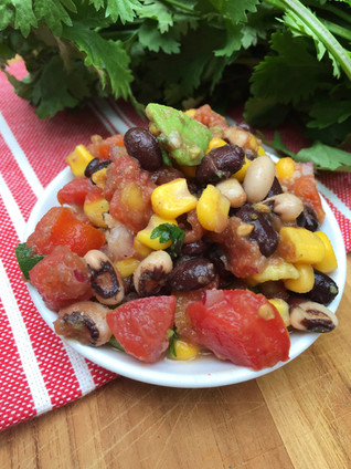 Steffani's Black Bean Salsa