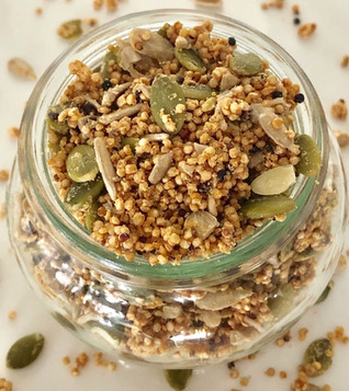 Quinoa Breakfast Crunch