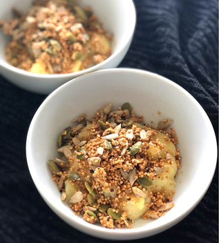 Roasted Banana Porridge