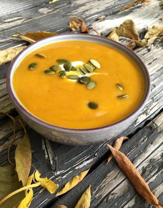 Winter Squash Thai Curry Soup