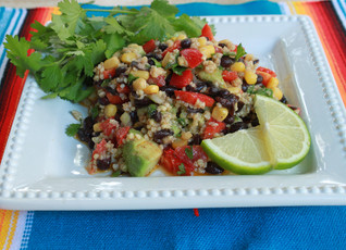 Corn, Bean and Grain Salad