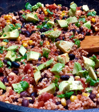 Simple Southwestern Skillet Dinner