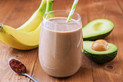 Chocolate Banana Nut Milk