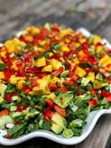 Mango Bok Choy Salad