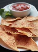Crispy Crepe Chips