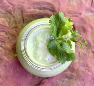 Cilantro Avocado Salad Dressing