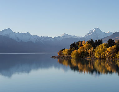 Autumn NZ Mt Cook Brent Purcell Phototours Workshops