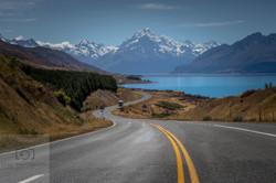 Mt Cook Lake Pukaki NZ