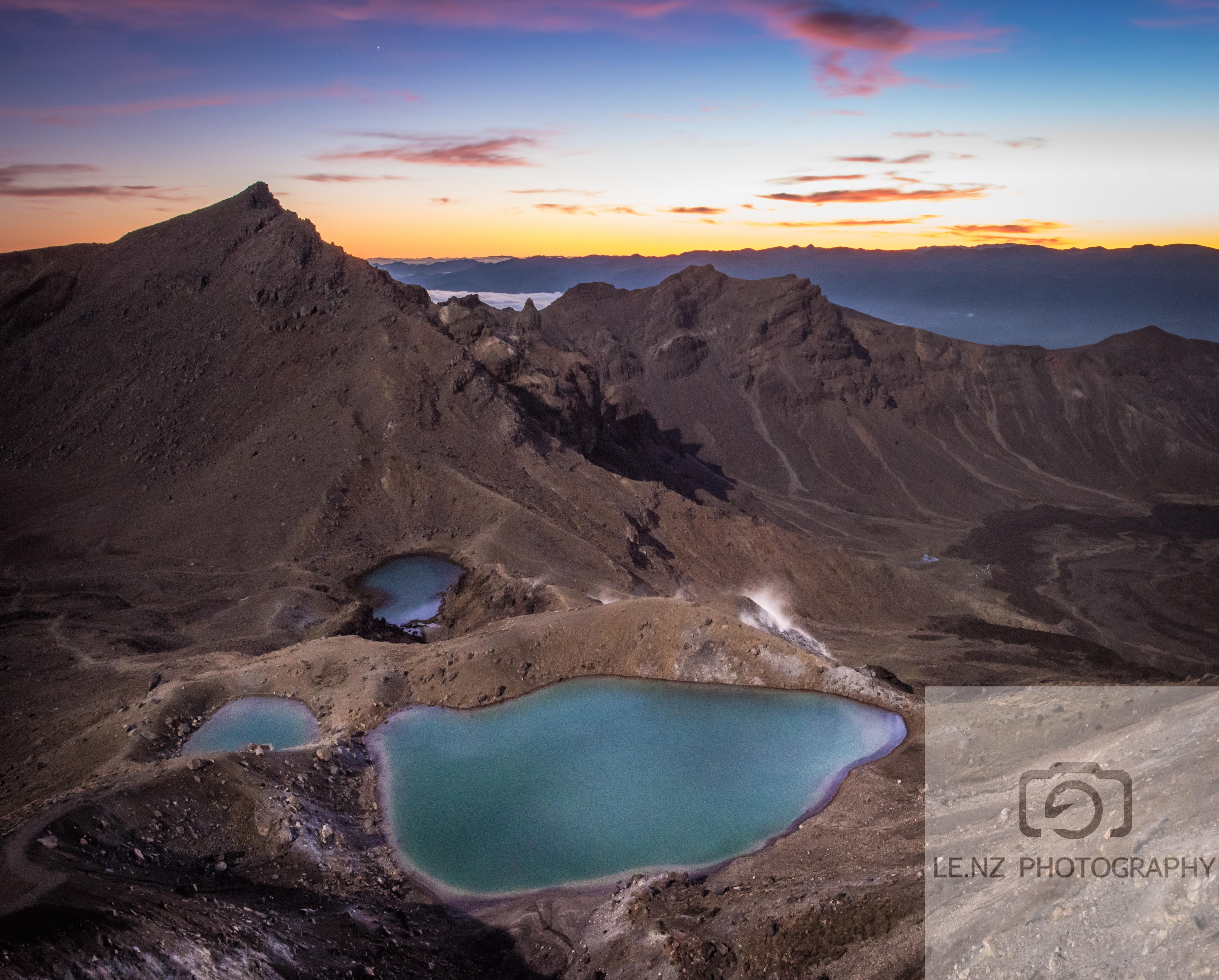 Emerald Lakes Tongariro Crossing NZ