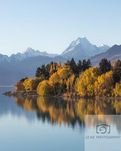 Pukaki Autumn NZ