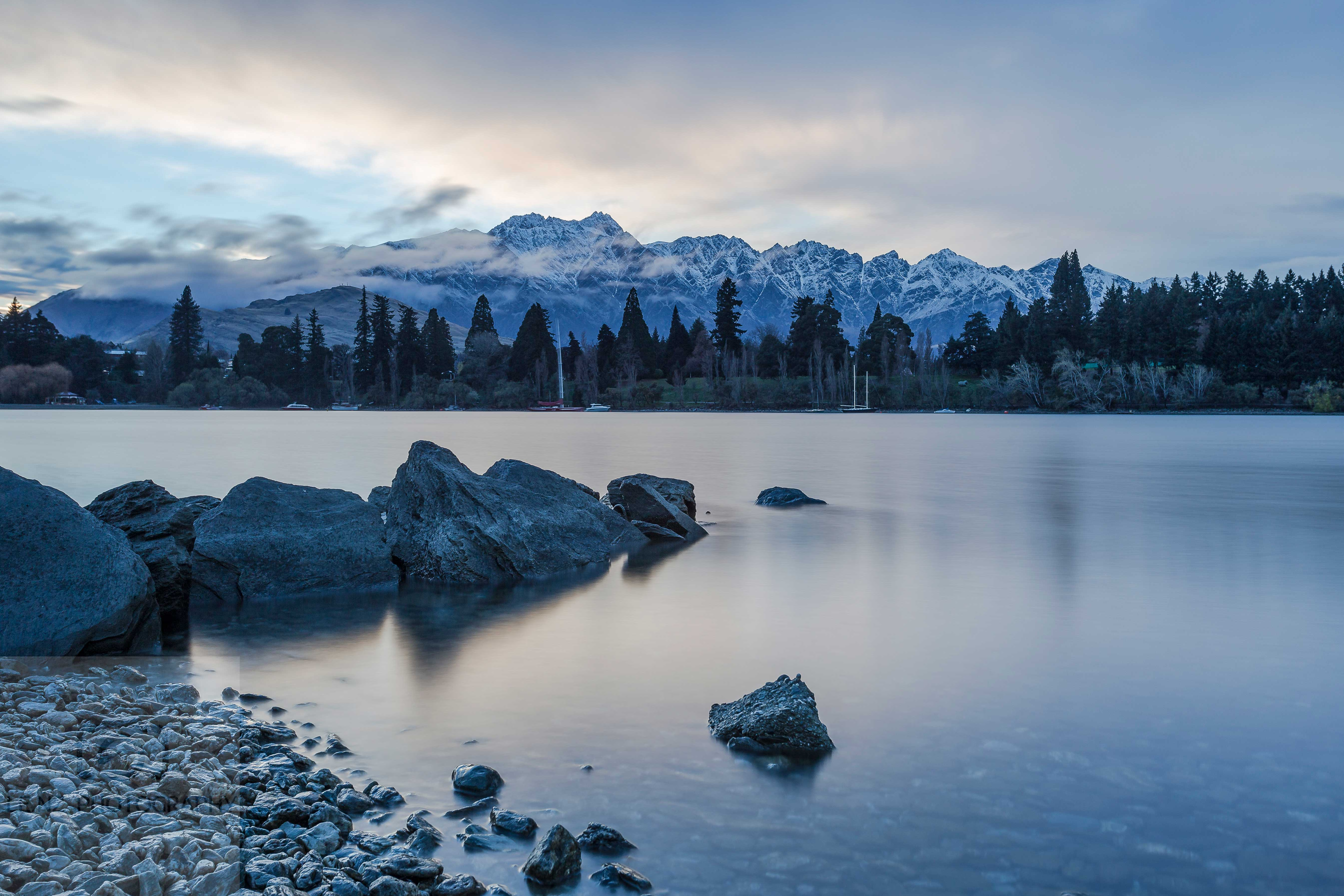 Lake Wakatipu and The Remarkables NZ