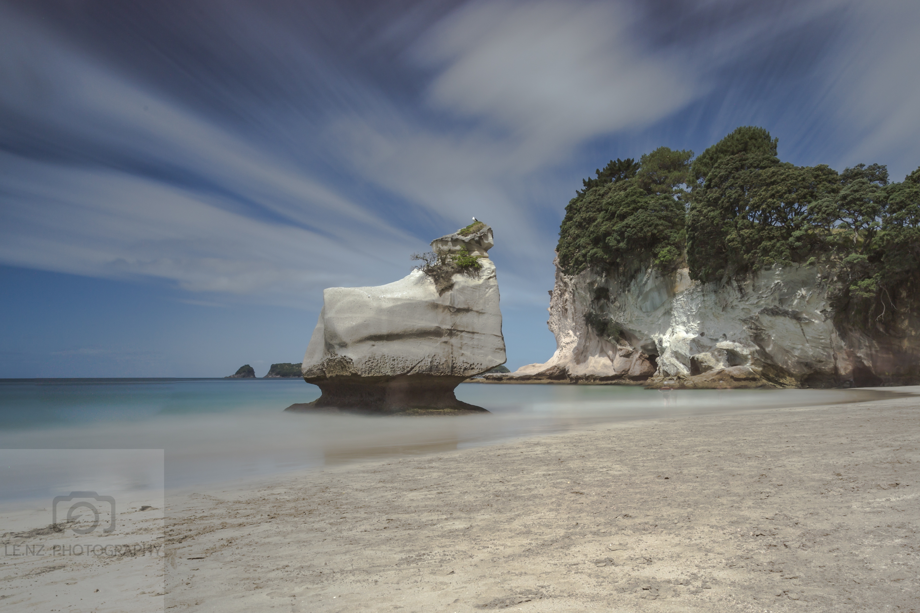 Sphinx Rock Mare's Leg Cove NZ