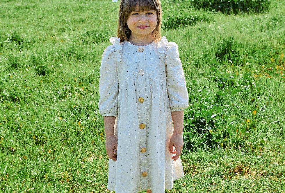 שמלת מלאניה קרם ( 199 ש״ח - 159 ש״ח)
