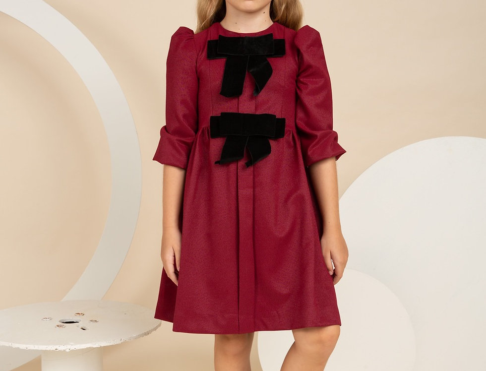 שמלת רומי בורדו