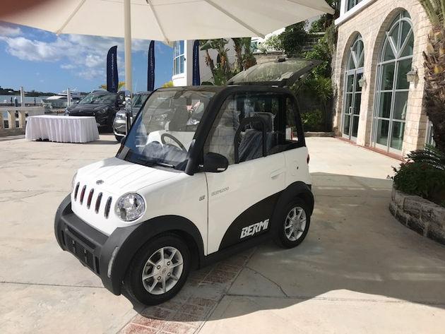 Bermuda Car Rental >> Bermi S First Public Unveiling Car Rental Bermuda Localmotionbda